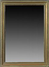 Napoleon III Brass-Mounted Wood Mirror