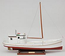Wooden Boat Model, Oyster Bay - Boat, Roland Griffin, Jr.
