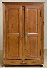French Provincial Pine Armoire