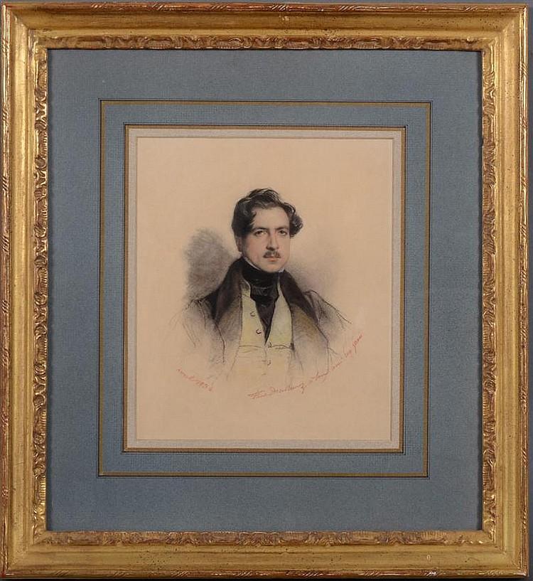 PAUL DELAROCHE (1797-1856): PORTRAIT OF EUGÉNE LAMI