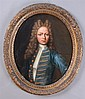 JOHN VERELST (1648-1734): PORTRAIT OF YOUNG NOBLEMAN IN BLUE