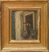 RENÉ AUBERJONOIS (1872-1957): ROMEO ET JULIETTE-LE BALCON
