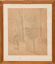 RENÉ AUBERJONOIS (1872-1957): EQUISSE POUR LE PRINTEMPS