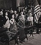 ESTHER BUBLEY (1922-1998): CLASSROOM PLEDGING ALLEGIANCE, Esther Bubley, Click for value