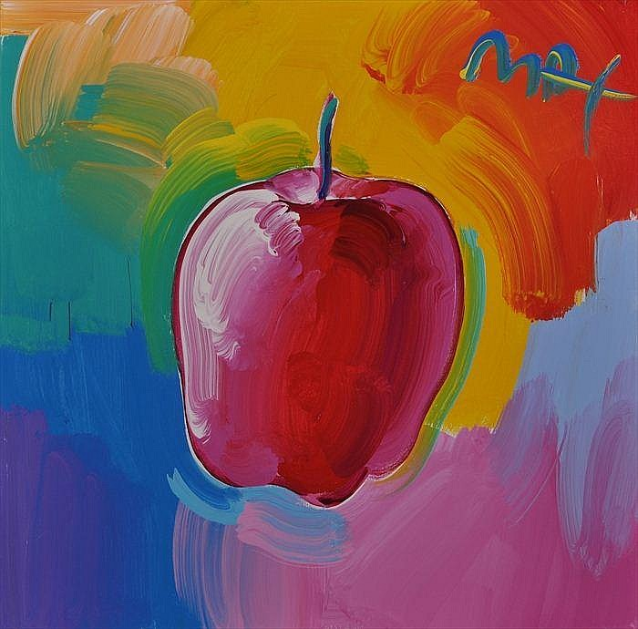 PETER MAX (b. 1937): APPLES