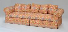 LARGE UPHOLSTERED FOUR SEAT SOFA