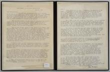 STEINBECK, JOHN: AUTOGRAPH LETTER SIGNED TO DR. MARTIN LUTHER KING JR