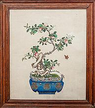 Chinese School: Two Fruit Trees