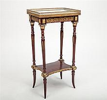 Napoleon III Ormolu-Mounted Mahogany Side Table