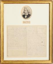 SAMUEL L. CLEMENS: LETTER TO JAMES R. OSGOOD DATED OCT. 4, 1881