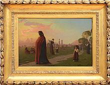 JEAN-LÉON GÉROME (1824-1904): DANTE, HE HATH SEEN HELL