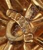 TIFFANY & CO. 18K GOLD X-FORM EARRINGS