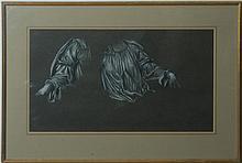 EVELYN DE MORGAN (1855-1919): STUDIES OF DRAPED FABRIC
