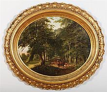 ATTRIBUTED TO ANDREW ANDREWS (1837-?): WOODLAND SCENE