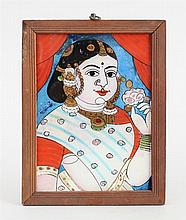 INDIAN SCHOOL: PORTRAIT OF A NOBLEMAN AND HIS WIFE