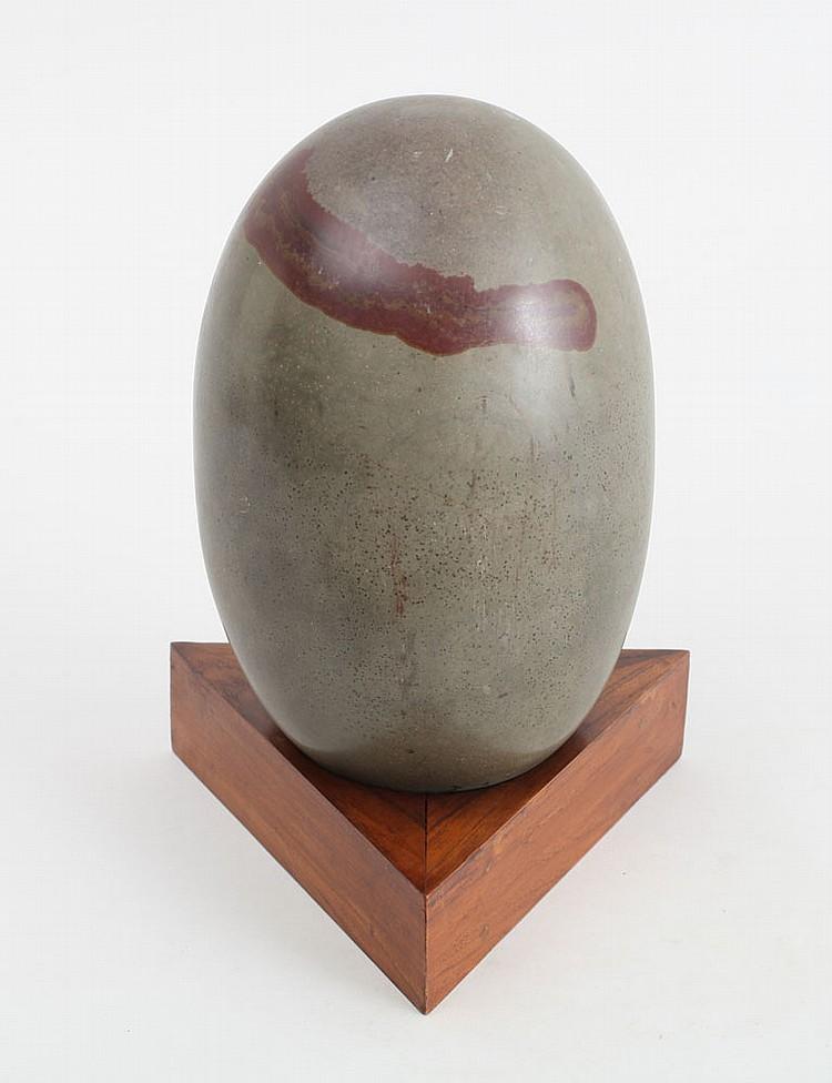 Lingam Stone Meaning Indian Egg Form Lingam Stone