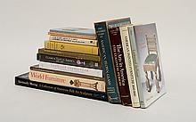 MISCELLANEOUS GROUP OF BOOKS ON THE HISTORY OF AMERICAN FURNITURE AND DECORATIVE ARTS