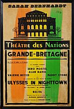 Théàtre des Nations Poster: Ulysses in Nighttown