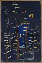 20th Century School: Untitled (Trees)