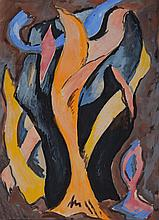 Willard MacGregor (1901-1993): Abstract Trees