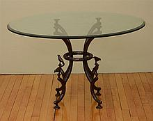 Bronze Metal Table Base