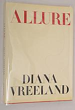 Diana Vreeland: Allure , First Edition Printing with Laid in Hand-Written Christmas Note-Card, 'From Jackie to Kenneth'