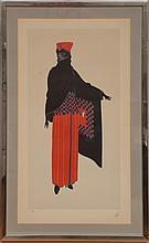 Erté (1892-1990): Standing Figure