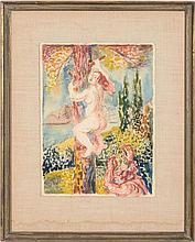 DAVID BURLIUK (1882-1967): THE CHASE