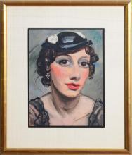 PIERRE THÉVENIN (1905-1950): PORTRAIT D'UNE FEMME