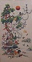 Chinese Silk Needlework Panel