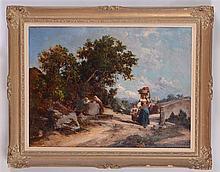ATTRIBUTED TO CESARE TIRATELLI (1864-1933): COSTUME D' ABRUZZO