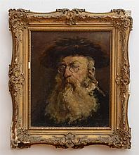 ATTRIBUTED TO LESSER URY (1861-1931): THE RABBI