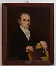 AMMI PHILLIPS (1788-1865): PORTRAIT OF DAVID R. ARNELL, M.D.