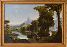 PIERRE ROMAND: THE VOYAGE OF LIFE, AFTER THOMAS COLE