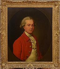 ATTRIBUTED TO NATHANIEL DANCE-HOLLAND (1735-1811): PORTRAIT OF A GENTLEMAN