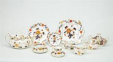 Royal Crown Derby Staffordshire Fifty-Six Piece Dessert Service, in the Imari Pattern