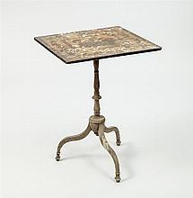 George III Style Painted Tripod Table