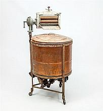 Vintage Copper Washing Machine