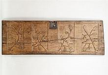 Continental Carved Oak Panel, 17th Century