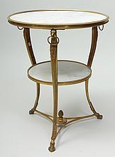 Louis XVI Style Ormolu and Marble Guéridon