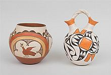 Two Southwest Indian Pottery Vessels