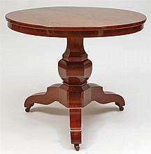 Charles X Mahogany Center Table