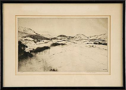 JOHN M. AIKEN (1880-1961) Signed lower right,