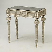 FINE ITALIAN NEOCLASSICAL PAINTED CONSOLE TABLE