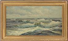 George Howell Gay (1858-1931): Surf - Cushings Island, ME