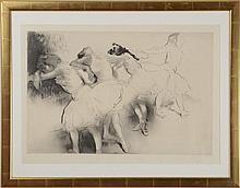 LOUIS LEGRAND (1863-1951): QUATRE DANSEUSES