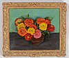WALT KUHN (1877-1949): ZINNIAS IN BROWN CROCK