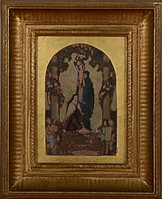 FRENCH SCHOOL (19TH CENTURY): STUDY FOR A RELIGIOUS SCENE