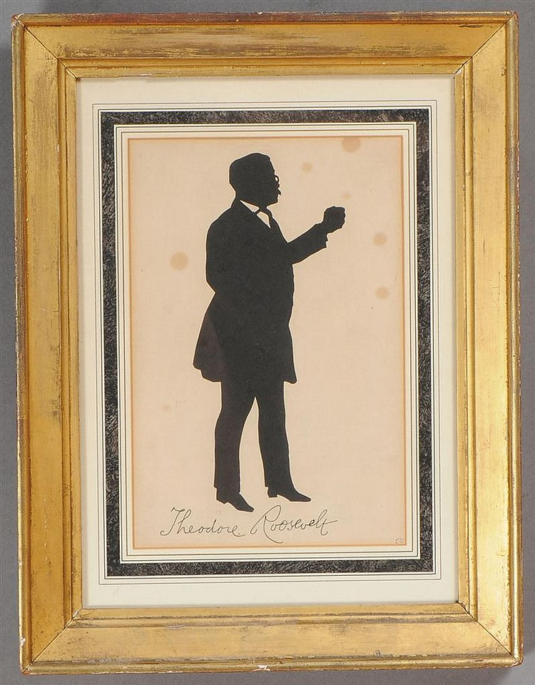 American School: Silhouette of Theodore Roosevelt
