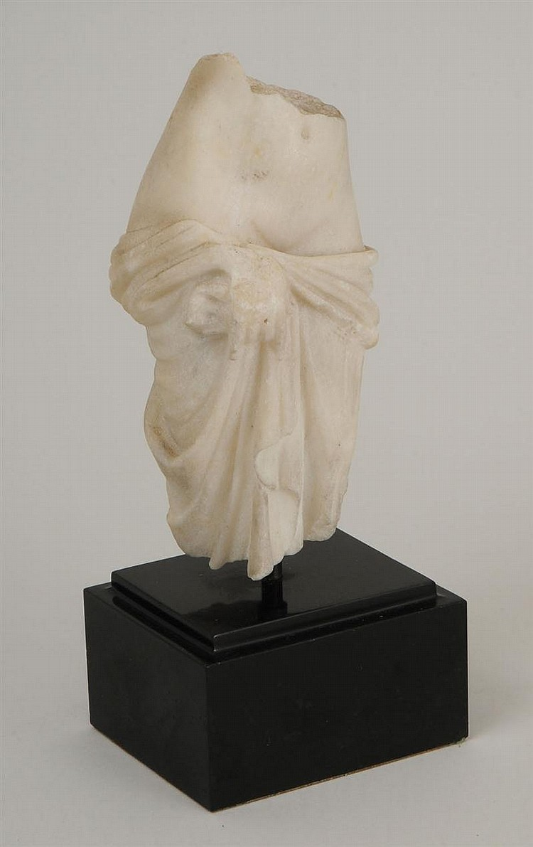 Greco/Roman Marble Torso of a Goddess